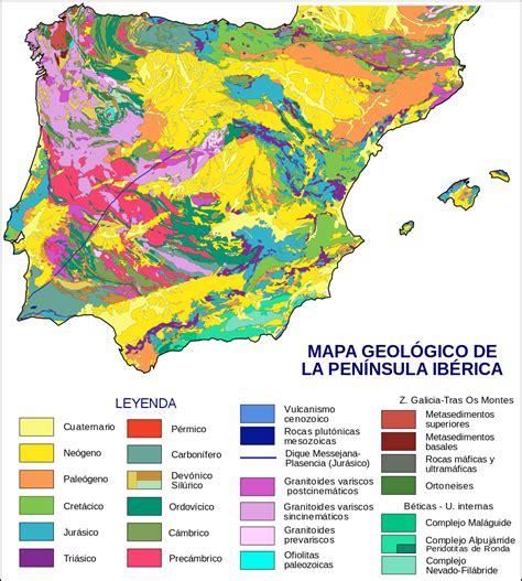 iberian peninsula on map file iberian peninsula geological map es svg wikimedia