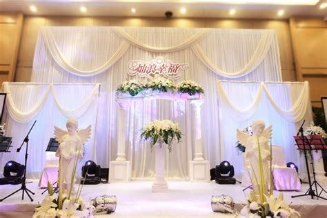 pipe and drape wedding decoration deluxe backdrop pure white swag pipe and drape for