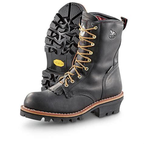 s boot 174 8 quot tex 174 loggers black 222215