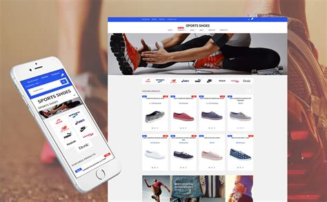 shopify themes shoes sport shoes store shopify theme
