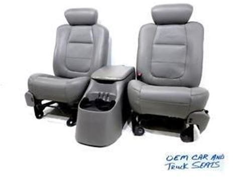 ford f150 replacement seats replacement ford f 150 f150 oem leather seats 1997
