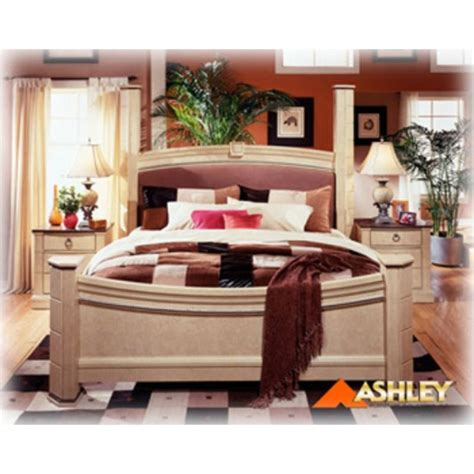 ashton castle bedroom set b310 99 ashley furniture ashton castle bedroom king poster