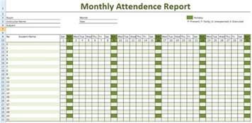 Employee Calendar Employee Attendance Calendar 2017 Attendance Tracker