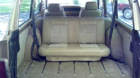 jeep grand third row seating find used 1990 jeep grand wagoneer low with