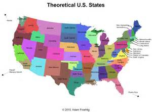 us map of new states the quot lower 60 quot