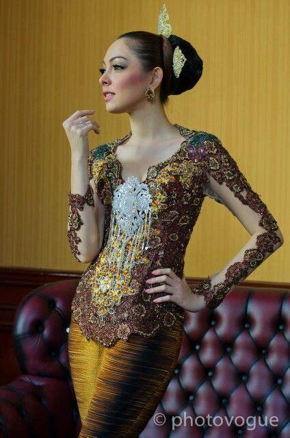 Sc5zhbtb20 Dress Lace Brukat Transparan Dress Hitam Dress Putih 167 best kebaya images on modern kebaya