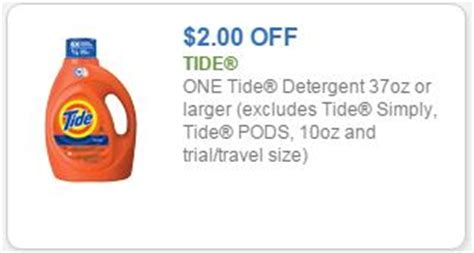 tide printable coupons november 2015 new 2 tide coupon laundry detergent only 3 49 with