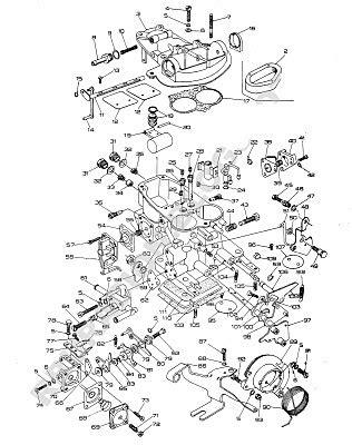 Ajuste de Motor: Despiece Carburador Solex 32-35 MIMSA