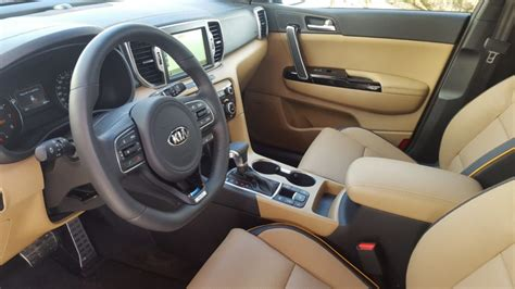 kia sportage 2017 interior resemblance to the porsche cayenne kia forum