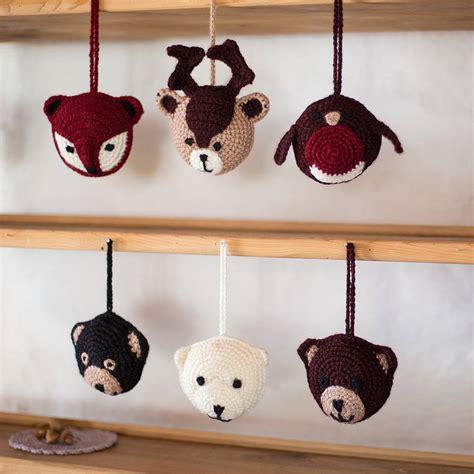 woodland animal personalised decorations by eka