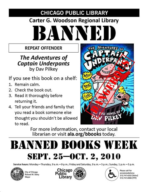 Ban More Books 2 by The Adventures Of Captain Underpants Banned Books Week 2