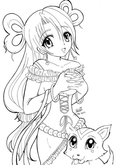 13 Best Of Anime Girl Coloring Pages Bestofcoloring Com Anime Coloring Pages For Free