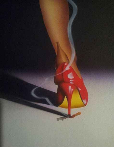 high class heels airbrush class 4 high heels and cigarettes by