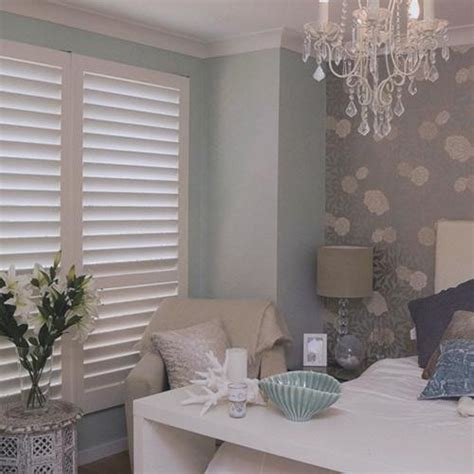 plantation shutters bedroom norman woodlore plantation shutters from blinds com