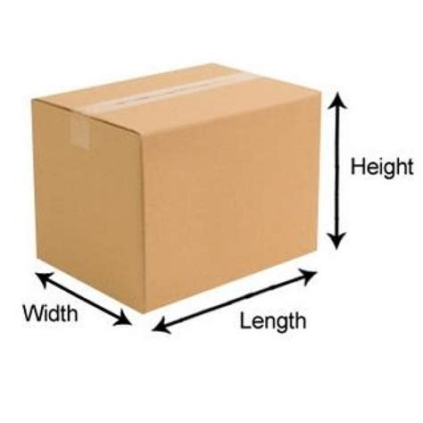 How To Measure A Box Double Wall Cardboard Boxes 12x12x12 R R Packaging
