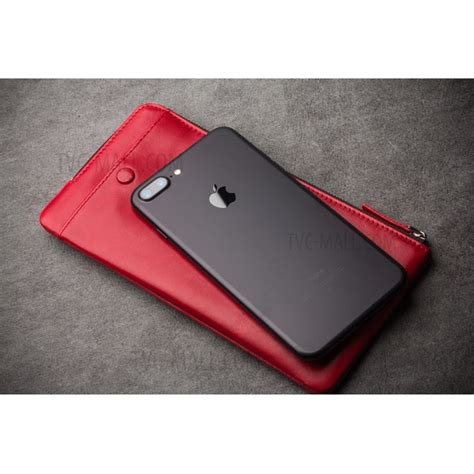 Pouch Clutch Purse For Iphone 7plus Samsunggalaxyc9 Wallet qialino wax genuine leather pouch clutch purse for
