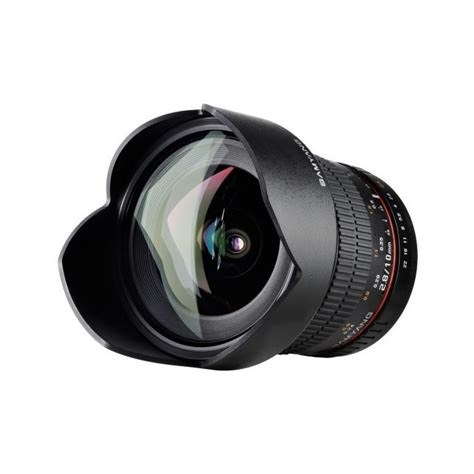 Samyang 10mm F 2 8 Ed As Ncs Cs objectif samyang 10mm f 2 8 ed as ncs cs canon