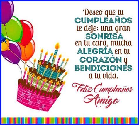imagenes feliz cumpleaños mejor amigo desea un feliz cumplea 241 os amigo imagenes bonitas mis