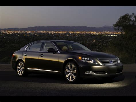 Black Side Ls 2008 Lexus Ls 600h L Black Front And Side Panorama