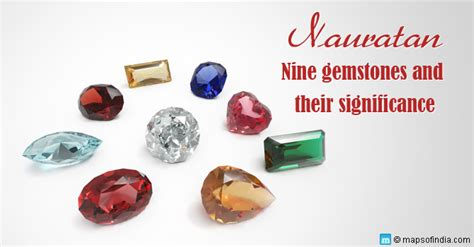 nine gemstone names types colors benefits significance