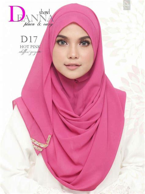 tudung raya norzi beautilicious house tudung deanna instant shawl