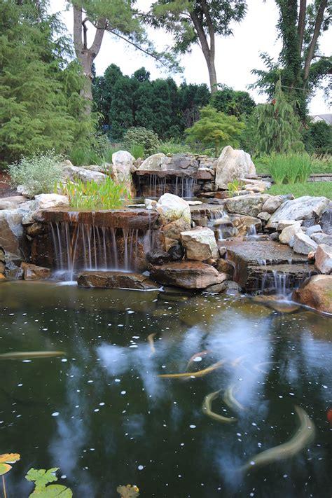 the essentials of koi pond design maintenance in northern virginia surrounds landscape