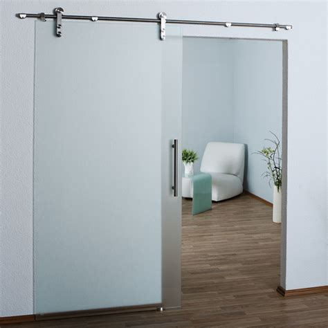Interior Sliding Door Hardware by Frameless Modern Stainless Sliding Barn Door Hardware For