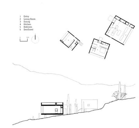Residential Floor Plans Desert Nomad House Micro Urbanism Meets Art Small Houses