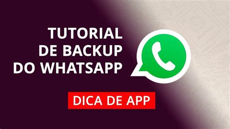 Tutorial Do Whatsapp | como fazer backup do whatsapp tutorial