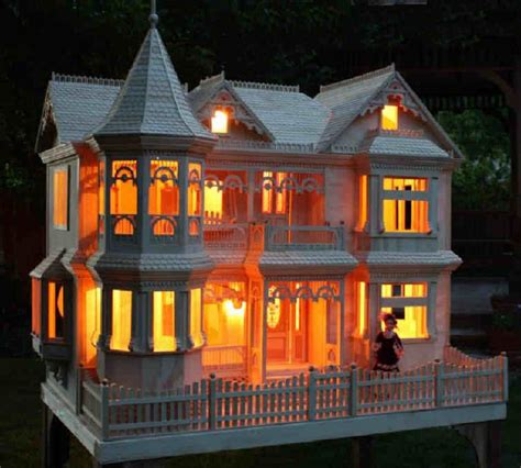 electric doll house lighted doll house an electric bill i can afford ℳყ favorite ƭнᎥƞgs