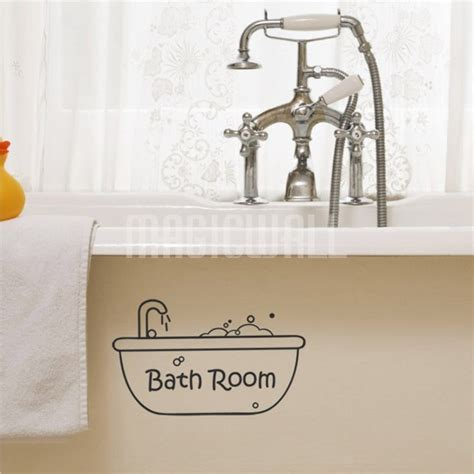 Bathtub Decals wall decals bathtub bath room wall stickers