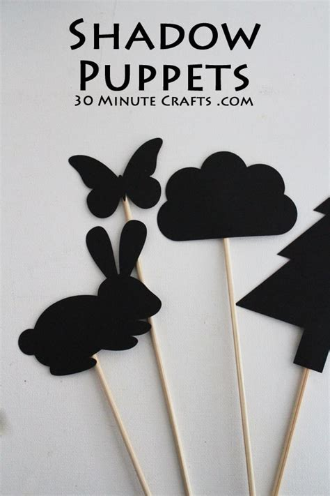 How To Make Shadow Puppets With Paper - how to make shadow puppets with paper 28 images