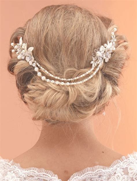 Vintage Bridal Hair Chain by 106 Best Hair Accessories Images On Weddings