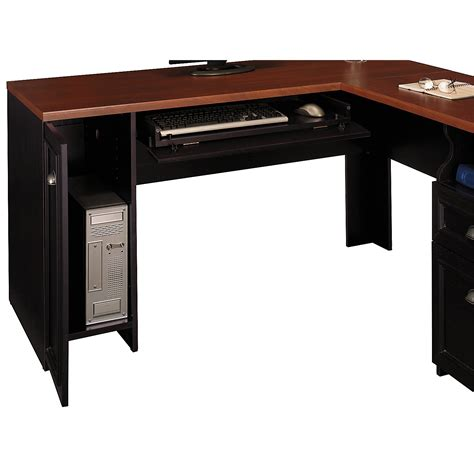 L Shaped Black Desk Best Black L Shaped Desk All About House Design