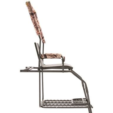 comfort zone ladder stand replacement seats x stand deluxe climbing tree stand 637487