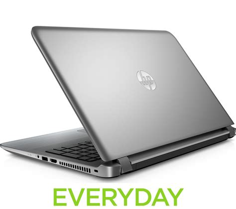 Notebook Hp15 Bw070ax Silver buy hp pavilion 15 ab150sa 15 6 quot laptop silver free delivery currys