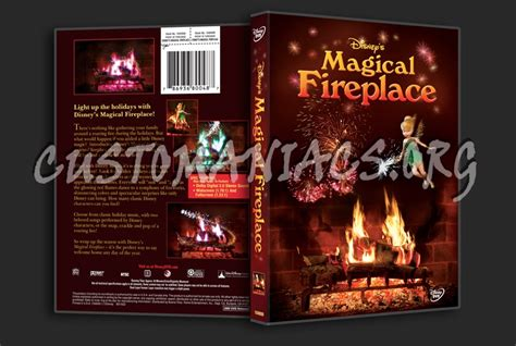 magical fireplace dvd cover dvd covers labels by