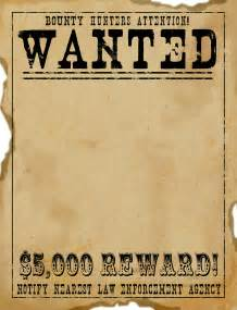 black and white wanted poster template free scrapbook graphics west wanted poster