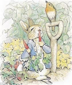 Our Cottage Garden - revenge of peter rabbit or the bunny boom that 191 s split the folk of beatrix potter s village