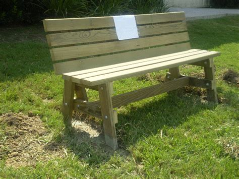easy garden bench plans simple garden bench seat made by mimi