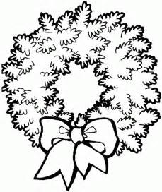 wreath coloring page coloring and activity pages wreath