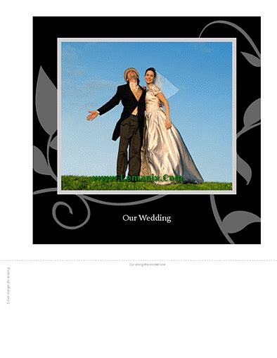 Microsoft Publisher Photo Album Template by Wedding Photo Album Free Publisher Templates For Publisher