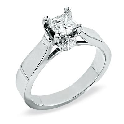 engagement ring 1 ct t w solitaire engagement