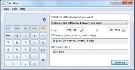 Calendar Calculator Weeks Between Two Dates Date Difference Calculator Number Of Days Between Dates