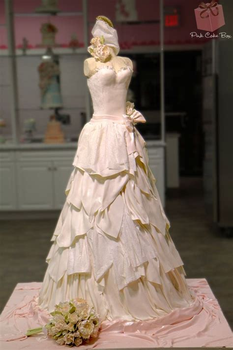 17 best ideas about dress cake on wedding dress cake bridal shower cakes and