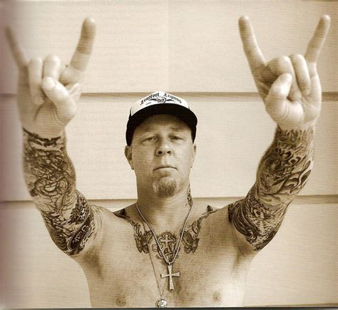 james hetfield tattoos hetfield metal husband