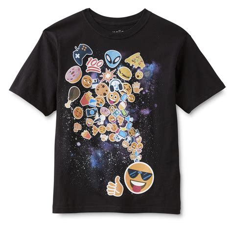 design emoji clothes emoji one boy s graphic t shirt outer space sears