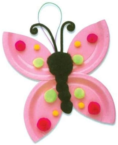Butterfly Paper Plate Craft - paper plate crafts