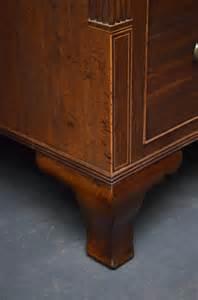 regency mule chest of drawers in mahogany antiques atlas