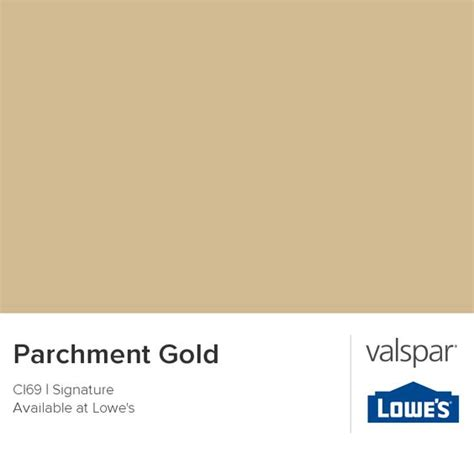 parchment gold from valspar colors colors workout rooms and chips